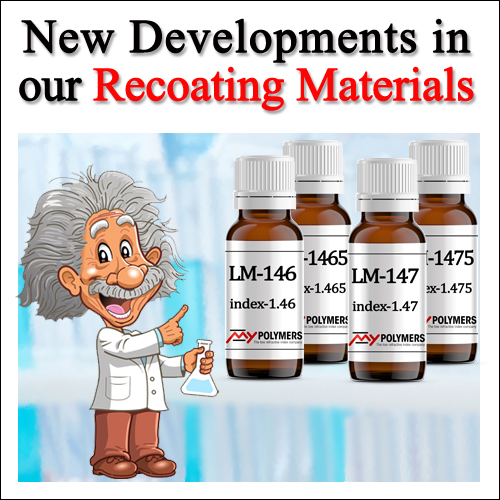 New Developments in our Re-coating Materials