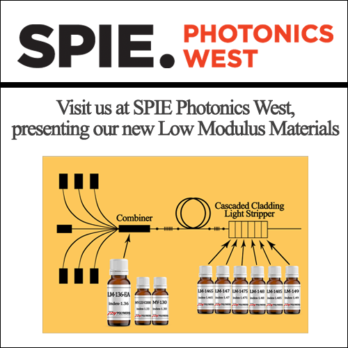 Visit us at Photonics West 2019